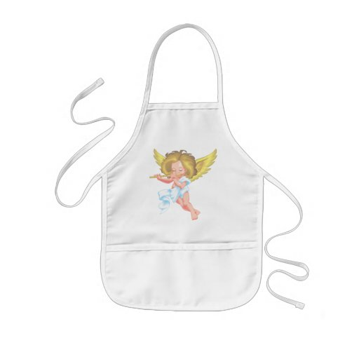 Cute little cherub apron