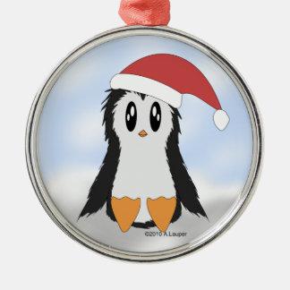 Cute Little Christmas Penguin Ornament
