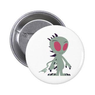 Cute little Chupacabra 2 Inch Round Button