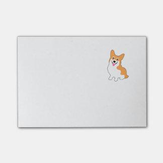Cute Little Corgi Post-it® Notes