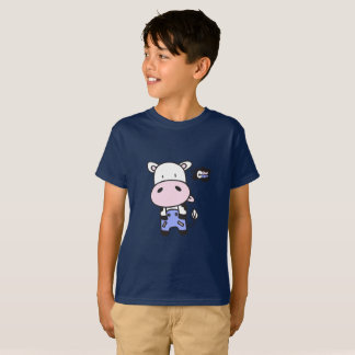 Cute Little Cow Cody Kids T-shirt