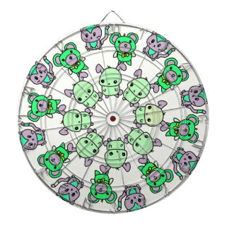 cute little creatures dartboard