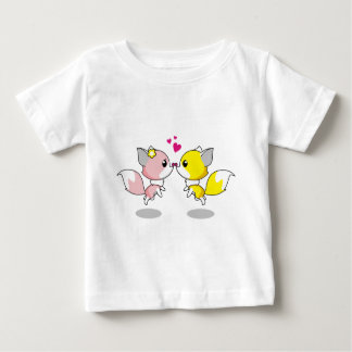 Cute Little Critters Are In Love Baby T-Shirt