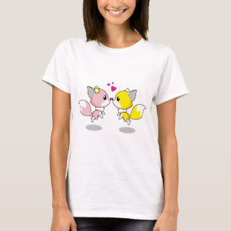 Cute Little Critters Are In Love T-Shirt