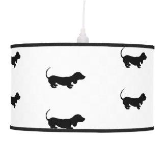 Cute Little Dachshund Design Pendant Lamp