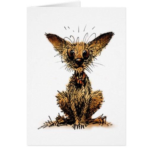 Cute Little Dog Cards