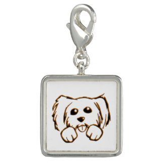 Cute Little Dog Charm