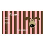 Cute Little Doggy Face Business Card
