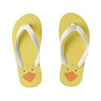 Cute Little Ducky Kid's Flip Flops