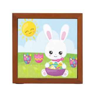 Cute Little Easter Bunny Desk Organizer
