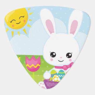 Cute Little Easter Bunny Guitar Pick