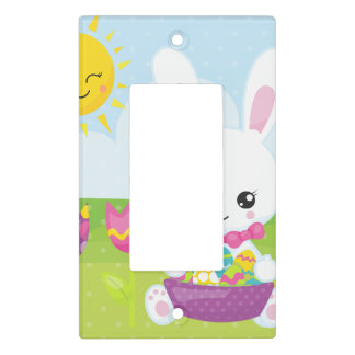 Cute Little Easter Bunny Light Switch Cover