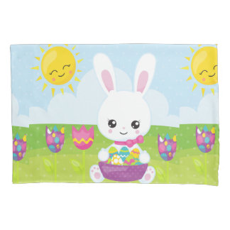 Cute Little Easter Bunny Pillowcase