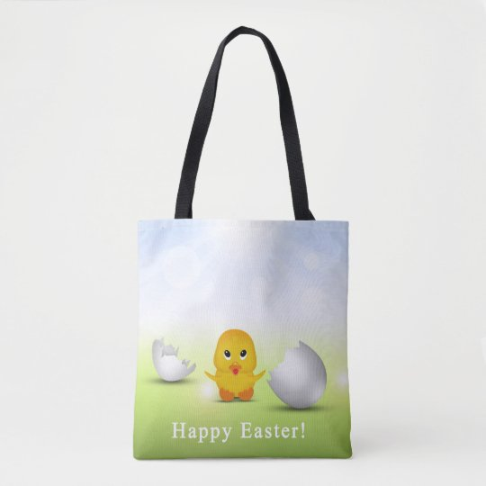 Cute Little Easter Chick - All-Over-Print Tote Bag