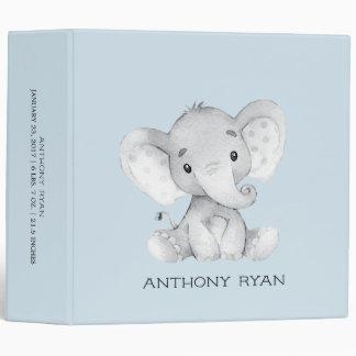 Cute Little Elephant Boys Baby Photo Album Binders