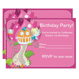 Cute Little Fairy Invitations