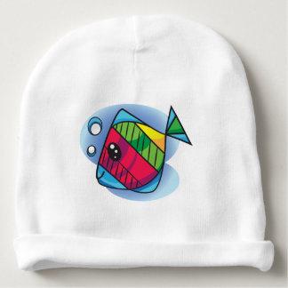Cute little fish baby beanie
