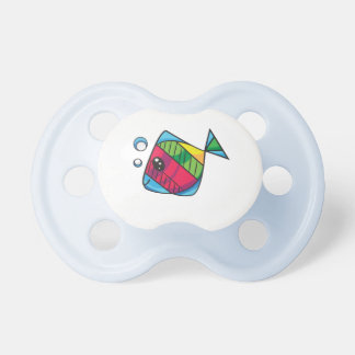 Cute little fish pacifier