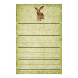 Cute Little Floppy Bunny- Stationery