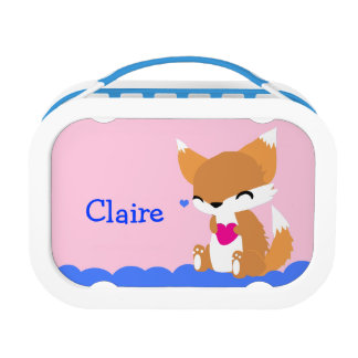 Cute Little Fox Lunchbox