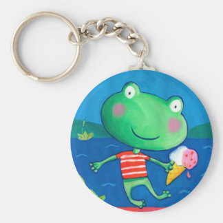 cute little frog keychain