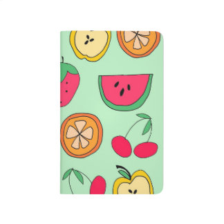 Cute Little Fruit Salad Pocket Journal