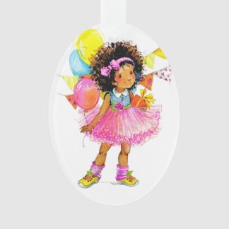 Cute Little Girl Ornament