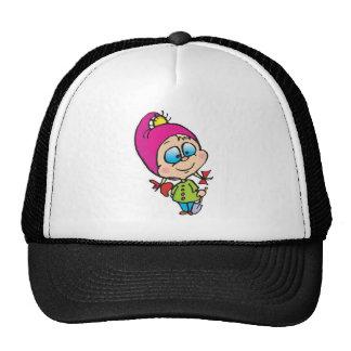 cute little gnome trucker hat