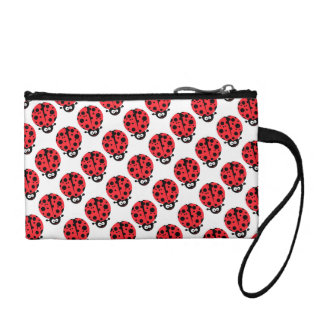 cute little goofy ladybug with lots of spots coin purse