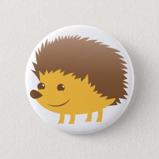 cute little hedgehog 2 inch round button
