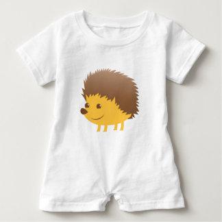 cute little hedgehog baby romper