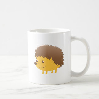cute little hedgehog coffee mug