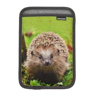 Cute Little Hedgehog in the Forest iPad Mini Sleeve