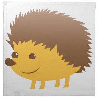 cute little hedgehog napkin