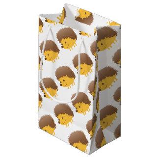 cute little hedgehog small gift bag