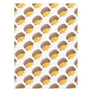 cute little hedgehog tablecloth