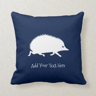 Cute Little Hedgehog Throw Pillow