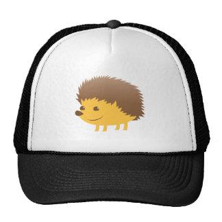 cute little hedgehog trucker hat