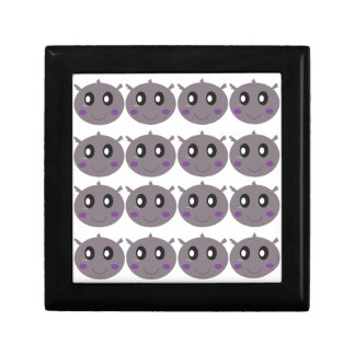 Cute little Hippos design Gift Box
