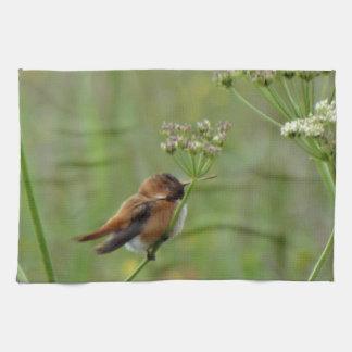 Cute little Hummingbird Kitchen Towel