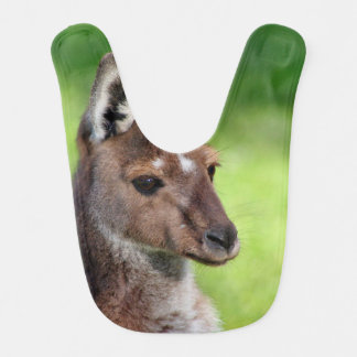 Cute Little Kangaroo Baby Bib