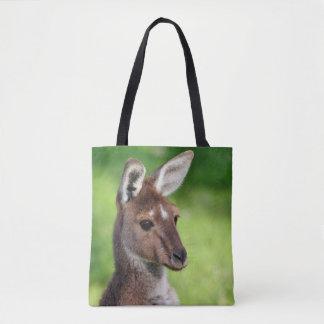 Cute Little Kangaroo Tote Bag