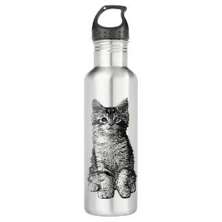 Cute Little Kitten 710 Ml Water Bottle