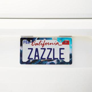 Cute little kitten license plate frame
