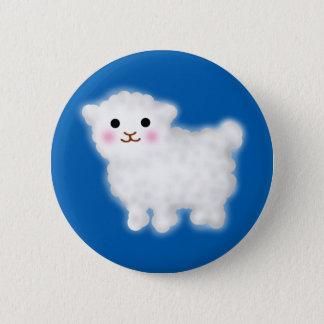 Cute Little Lamb 2 Inch Round Button