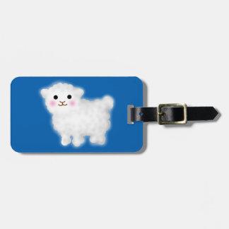 Cute Little Lamb Luggage Tag