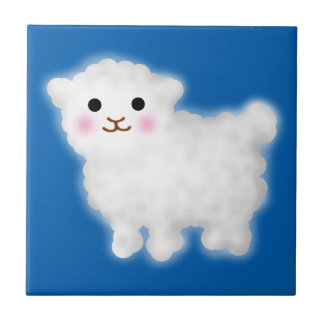 Cute Little Lamb Tile