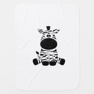 Cute little lost zebra blankie baby blanket