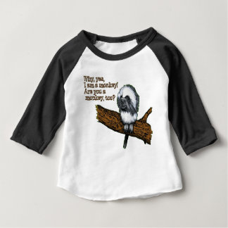 Cute Little Monkey Baby T-Shirt