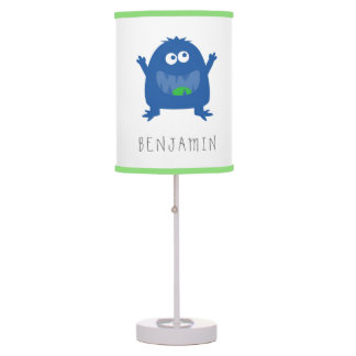 Cute Little Monster Personalized Lamp